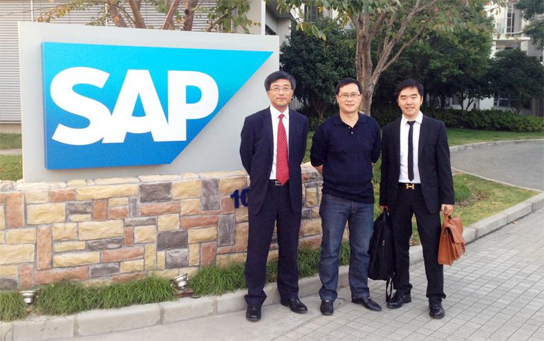 易敢峰博士在SAP中国研究院