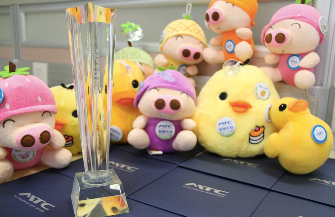 SAP食品行业最佳解决方案奖